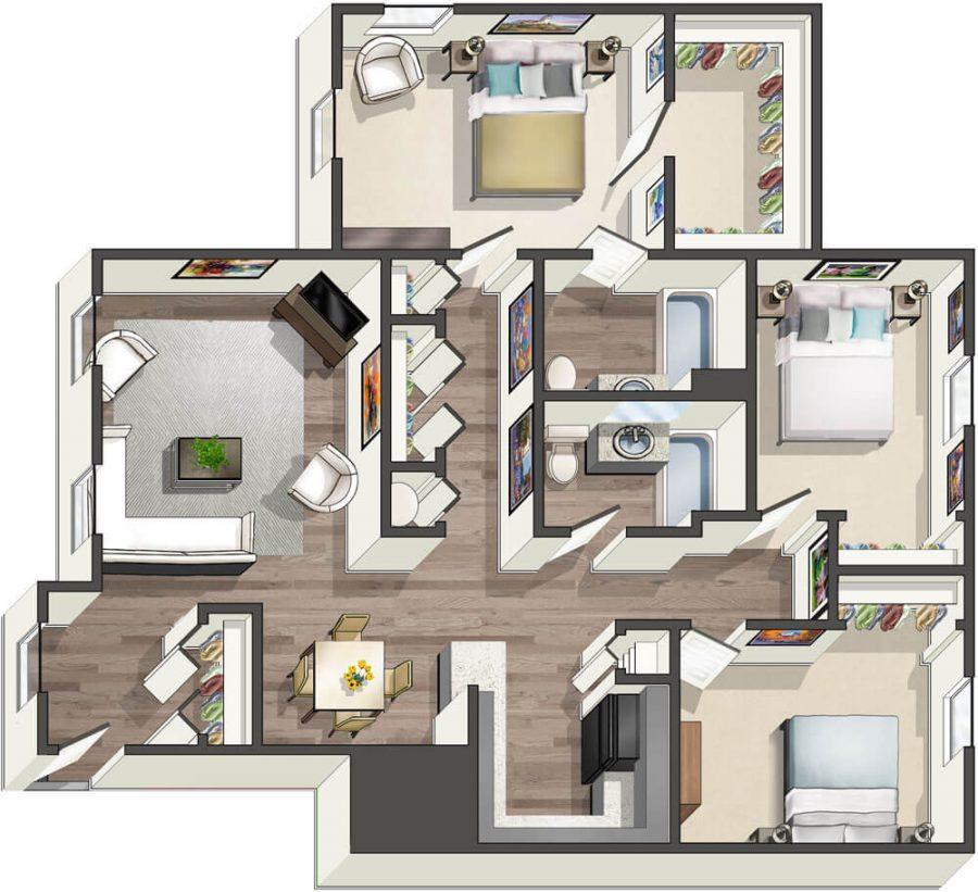 Woodland Creek Apartments